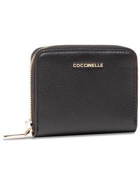 Coccinelle Coccinelle Kis női pénztárca HW5 Metallic Soft E2 HW5 11 A2 01 Fekete