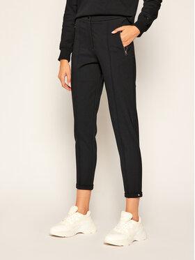 Calvin Klein Calvin Klein Текстилни панталони Milano Stretch Cigarette K20K202303 Черен Slim Fit