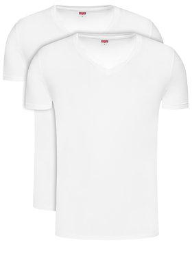 Levi's® Levi's® 2-dielna súprava tričiek 905056001 Biela Regular Fit