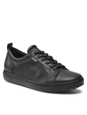 ECCO ECCO Sneakersy Soft 7 W GORE-TEX 44030301001 Czarny