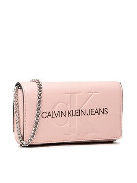 Calvin Klein Calvin Klein Kabelka Sculpted Mono Phone Xbody K60K608398 Růžová