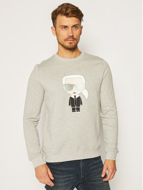 KARL LAGERFELD KARL LAGERFELD Sweatshirt Sweat 705041 502950 Gris Regular Fit