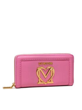 LOVE MOSCHINO LOVE MOSCHINO Великий жіночий гаманець JC5634PP0CKK0600 Рожевий