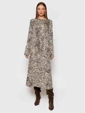 Samsøe Samsøe Samsøe Samsøe Kleid für den Alltag Rami F20500138 Beige Regular Fit
