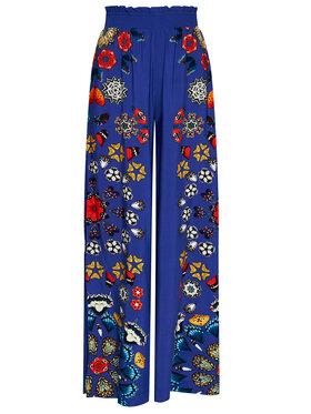 Desigual Desigual Spodnie materiałowe Chipre 21SWMW26 Granatowy Relaxed Fit
