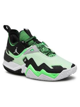 Nike Nike Обувки Jordan Westbrook One Take (Gs) CJ0955 103 Зелен