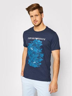Emporio Armani Emporio Armani T-Shirt 211818 1P468 72035 Granatowy Regular Fit