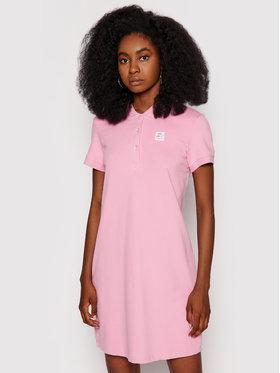 Starter Starter Kleid für den Alltag SDG-013-BD Rosa Regular Fit