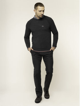 Tommy Hilfiger Tailored Tommy Hilfiger Tailored Παντελόνι υφασμάτινο MERCEDES-BENZ Denton TT0TT05781 Γκρι Fitted Fit