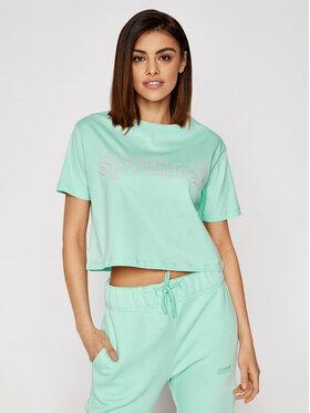 Sprandi Sprandi T-shirt SS21-TSD004 Vert Cropp Fit