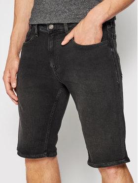 Tommy Jeans Tommy Jeans Džínové šortky Ronnie DM0DM10571 Černá Relaxed Fit