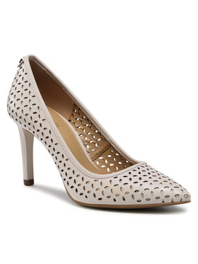 MICHAEL Michael Kors MICHAEL Michael Kors Pantofi cu toc subțire Dorothy 40S1DOMP1L Bej