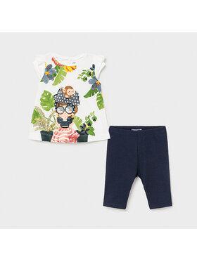 Mayoral Mayoral Set bluză și leggings 1711 Colorat Regular Fit