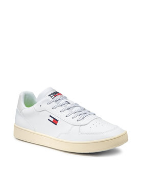 Tommy Jeans Tommy Jeans Сникърси Tommy Jeans Seasonal Cupsole EM0EM00673 Бял