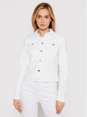 Tommy Jeans Tommy Jeans Τζιν μπουφάν Vivianne Trucker DW0DW10065 Λευκό Slim Fit