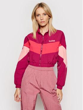 Guess Guess Prechodná bunda J BALVIN W0FQ67 RCNI1 Ružová Regular Fit