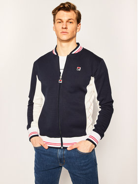 Fila Fila Sweatshirt Men Settanta 687653 Dunkelblau Regular Fit
