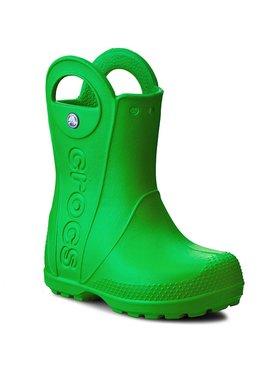 Crocs Crocs Гумени ботуши Handle It Rain Boot Kids 12803 Зелен