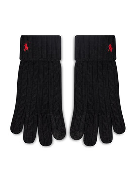 Polo Ralph Lauren Polo Ralph Lauren Γάντια Ανδρικά Echo F21 449853977001 Μαύρο