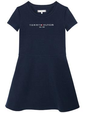 Tommy Hilfiger Tommy Hilfiger Sukienka codzienna Essential KG0KG05789 D Granatowy Regular Fit
