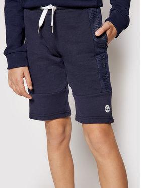 Timberland Timberland Pantaloncini sportivi T24B41 S Blu scuro Regular Fit