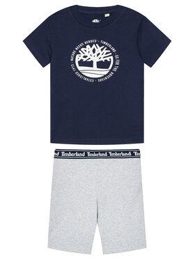 Timberland Timberland Комплект тишърт и панталонки T27096 M Цветен Regular Fit