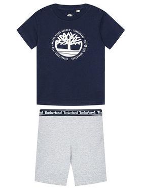 Timberland Timberland Set T-Shirt und Shorts T27096 M Bunt Regular Fit
