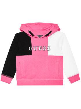 Guess Guess Μπλούζα H1YT02 KAD70 Ροζ Regular Fit