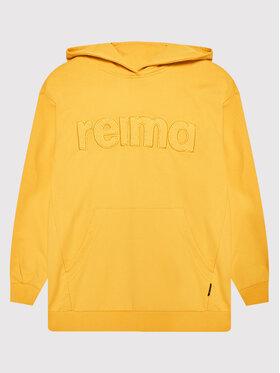 Reima Reima Суитшърт Puhto 536679 Жълт Relaxed Fit