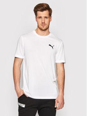 Puma Puma Тениска от техническо трико Active Tee 851702 Бял Regular Fit