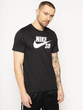 Nike Nike T-Shirt SB AR4209 Czarny Standard Fit