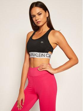 Calvin Klein Performance Calvin Klein Performance Biustonosz top Medium Support 00GWF0K148 Czarny