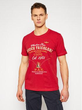 Aeronautica Militare Aeronautica Militare T-shirt 211TS1844J509 Crvena Regular Fit