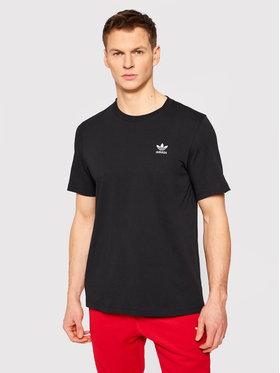 adidas adidas T-Shirt Loungewear adicolor Essentials Trefoil Tee GN3416 Μαύρο Regular Fit