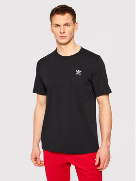 adidas adidas Tricou Loungewear adicolor Essentials Trefoil Tee GN3416 Negru Regular Fit