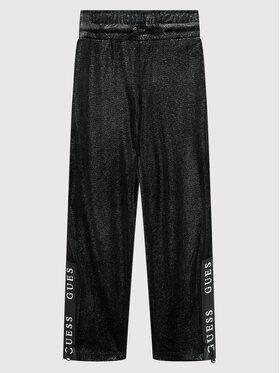 Guess Guess Текстилни панталони J1BQ11 KAV00 Черен Regular Fit