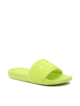 Calvin Klein Jeans Calvin Klein Jeans Papucs Slide Monogram Co YM0YM00061 Zöld