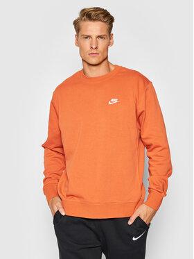 Nike Nike Mikina Sportswear Club BV2666 Oranžová Standard Fit