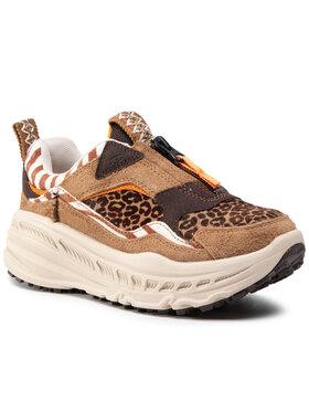 Ugg Ugg Sneakersy W CA805 Zip Wild Thang 1116252 Hnědá