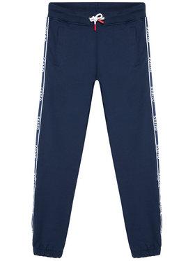 Guess Guess Spodnie dresowe L1RQ03 KA6R0 Granatowy Regular Fit