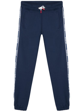 Guess Guess Teplákové kalhoty L1RQ03 KA6R0 Tmavomodrá Regular Fit
