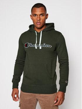 Champion Champion Sweatshirt Hooded 214718 Grün Comfort Fit
