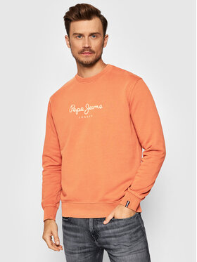 Pepe Jeans Pepe Jeans Bluza Dylan PM582056 Pomarańczowy Regular Fit