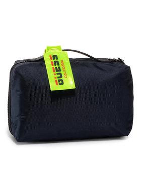 Guess Guess Pochette per cosmetici Dan (NYLON) HMDNNY P0242 Blu scuro