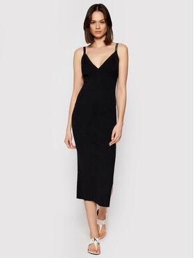 Calvin Klein Jeans Calvin Klein Jeans Trikotažinė suknelė J20J216095 Juoda Slim Fit