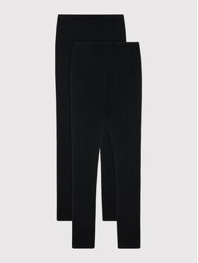 NAME IT NAME IT Set de 2 leggings 13180828 Noir Slim Fit