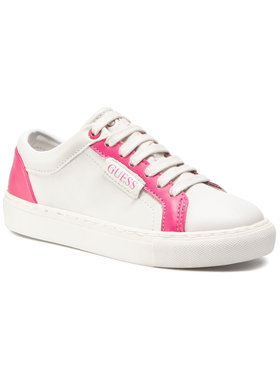Guess Guess Sneakersy Lucy FI5LUC ELE12 Biały