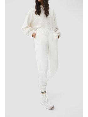 Sprandi Sprandi Spodnie dresowe AW21-SJD018 Biały Regular Fit