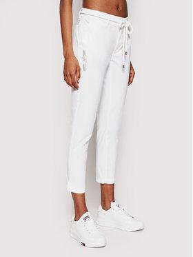 EA7 Emporio Armani EA7 Emporio Armani Текстилни панталони 3KTP01 TN3EZ 1100 Бял Slim Fit