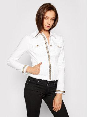 Liu Jo Liu Jo Kurtka jeansowa WA1127 T6446 Biały Slim Fit